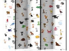 Paraván - animals (for children) II [Room Dividers]